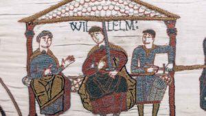 William Duke of Normandy, Robert de Mortain and Bishop Odo