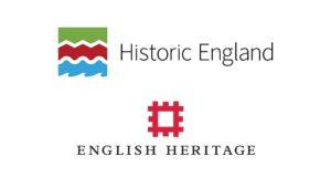 Historic England and English Heritage logos