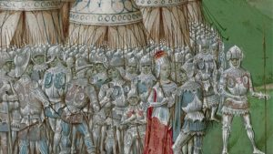 Isabella of France with Roger Mortimer