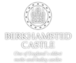 Berkhamsted Castle, one of England's oldest  motte-and-bailey castles